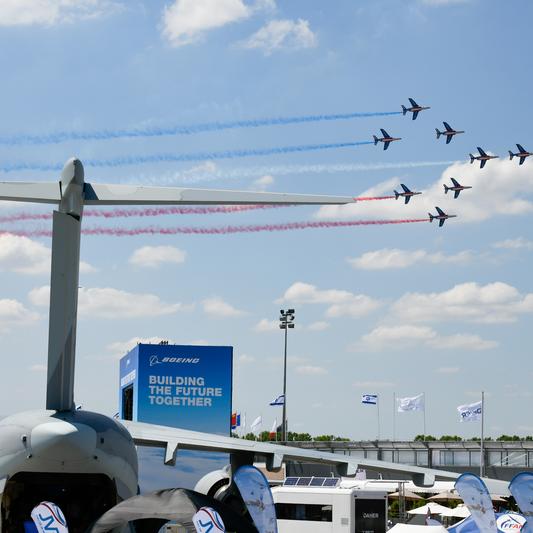 Salon International de l'Aéronautique et de l'Espace - Paris le Bourget : le 1er Salon aéronautique au monde